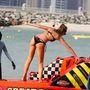 A tökéletes testű modell, Abbey Clancy Dubaiban nyaralt.