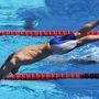 2005: a 4x100-as vegyesváltóban úszó Phelps a montréali vb-n.