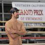 2010: edzés után pár újságírói kérdésre is válaszolt a bajnok Long Beachen.