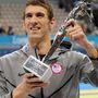 2012: a londoni olimpián megszerezte 18. aranyérmét, és ezért a Nemzetközi Olimpiai Bizottság ezzel a trófeával jutalmazta meg az alltime rekordert.