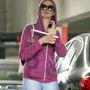 Anne Hathaway április 18-án, edzőteremből távozáskor
