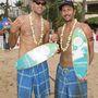 Ez tavaly novemberben volt Honoluluban. Az alacsonyabb férfi bizonyos Sean Rosenthal
