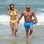 Melissa és Joe Gorga az óceán partján Miamiben