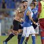 Lavezzi tavaly augusztusban az argentin válogatott tagjaként az olasz válogatott elleni barátságos mérkőzésen
