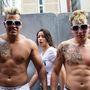 Ennek a brazil párnak még a tetoválása is hasonló