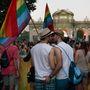 És két spanyol a tavalyi madridi gay pride-ról