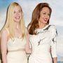 Angelina Jolie és Elle Fanning a Demóna londoni bemutatóján