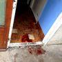 A nőt itt lőtte hason a gyanúsított.