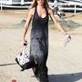 Denise Richards május 17-én lovagolni vitte lányait