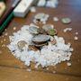 Régi pénzek és cukor