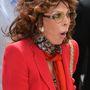 Ilyen, amikor Sophia Loren meglepődik.