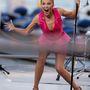 Kylie Minogue nagyon élénken adott koncertet.