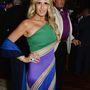 Sylvester Stallone még mindig nagy király, Tiziana Roccának mutatott szamárfület egy partin.