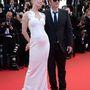 Quentin Tarantino és Uma Thurman megérkezett a 67-ik Cannes-i Filmfesztivál zárórendezvényére