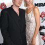 Quentin Tarantino és Uma Thurman a Kill Bill bemutatóján, 2003-ban