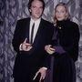 Quentin Tarantino és Uma Thurman 1994-ben