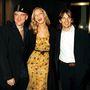 Quentin Tarantino, Uma Thurman és Ethan Hawke 2000-ben