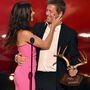 Ugyanis játszott ő már szépségkirálynőt. Hugh Grant volt az egyik díjátadó.