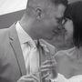 Egy romantikus esküvői kép