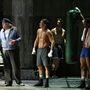 Gennady Golovkin profi bokszoló a Broadway színpadán a Rocky musicalben