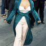 Kim Kardashian és az ő mellei a Jimmy Kimmel Show felvétele után