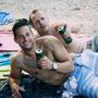 Ez a két ír srác külön kérte, hogy fotózzuk le őket