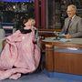 2013, Late Night Show: elég jól érzi magát David Lettermannál is.