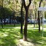 Ez itt tehát a Muzsikus cigányok parkja, bár a tábla magától is elég árulkodó