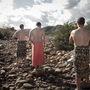 A júliusi modellek: Mark Rutherfoord, Brendan Tindall és John Vogel