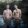 Az áprilisi modellek: Mark Rutherfoord és Brendan Tindall