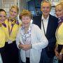 Repülővel utaztak a spanyolországi Benidormba.
