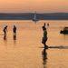 Ez pedig a Balaton vízszintcsökkenése miatt aggódó Hajdú Péter felvétele Balatonföldvárról