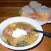 Egy tál talánfrankfurti leves a Balatonnál, reméljük, ízlett