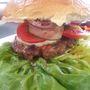 Hamburger mozzarellával