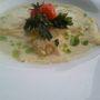 Gyömbéres sütőtökös ravioli saláta veloutée-val 2000.-