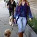2008. november, Los Angeles: kutya és hajpánt