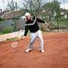 A tenisz a hobbija