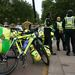 A biciklis mentősök is gyülekeznek már