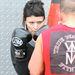 A levágott és befestett hajáról rá se lehet ismerni Rooney Marára, aki így készült A tetovált lány szerepére.