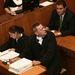 A színész ügyvédje, dr. Ruttner György és a papírhalom