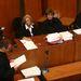 A bírói testület bő két órára visszavonult ítéletet hozni