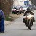 Brad Pitt motorjával Budapesten