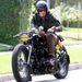 David Beckham motorozik