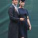 Victoria és David Beckham Vilmos hercegék esküvőjén