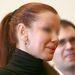 Keleti Györgyi feltűzött hajában hosszabbítás csomói látszanak