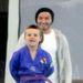 Január 24-én a fiával az edzésen