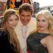 Hasselhoff a lányaival, Hayley Amberrel és Taylor Ann-nel