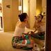 Lauren Lawson Guerrero, Nicaragua küldötte sminkel szállodaszobájában