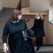 Liptai Claudia megérkezik a bíróságra