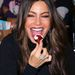 Sofia Vergara boldog,